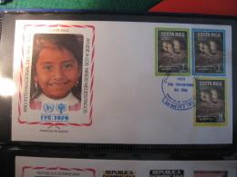 FDC 1979 -  COSTA RICA  : Internationales Jahr Des Kindes   -   1 - Francobolli