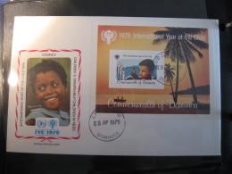 FDC 1979 -  DOMINICA : Internationales Jahr Des Kindes   -   1 - Francobolli