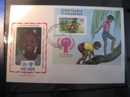 FDC 1979 -  GRENADA : Internationales Jahr Des Kindes   -   1 - Francobolli
