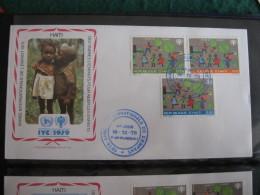 FDC 1979 -  HAITI : Internationales Jahr Des Kindes   -   1 - Francobolli