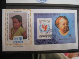 FDC 1979 -  HONDURAS : Internationales Jahr Des Kindes   -   1 - Francobolli