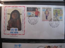 FDC 1979 -  COLOMBIA : Internationales Jahr Des Kindes   -   1 - Francobolli