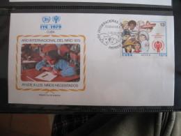 FDC 1979 -  CUBA : Internationales Jahr Des Kindes   -   1 - Francobolli