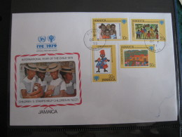 FDC 1979 -  JAMAICA : Internationales Jahr Des Kindes   -   1 - Francobolli