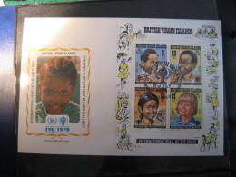 FDC 1979 -  BRITISH VIRGIN ISLANDS  : Internationales Jahr Des Kindes   -   1 - Francobolli