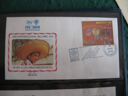 FDC 1979 -  MEXICO  : Internationales Jahr Des Kindes   -   1 - Francobolli