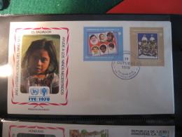 FDC 1979 -  EL SALVADOR  : Internationales Jahr Des Kindes   -   1 - Francobolli