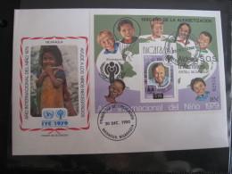 FDC 1979 -  NICARAGUA  : Internationales Jahr Des Kindes   -   1 - Francobolli