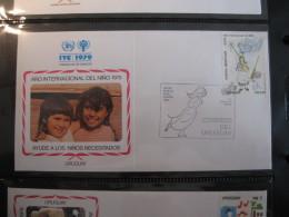 FDC 1979 -  URUGUAY   : Internationales Jahr Des Kindes   -   1 - Francobolli