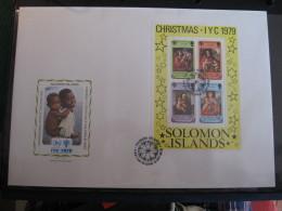 FDC 1979 -  SOLOMON ISLANDS    : Internationales Jahr Des Kindes   -   1 - Francobolli