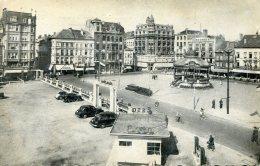 BELGIUM -  Ostende -  Place D'Armes - Wapenlaat -  Sabena Slogan - Bandstand Etc - Oostende