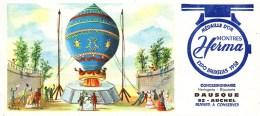 Buvard Montres Herma Expo Bruxelles 1958 Concessionnaire Dausque à AUCHEL (1) - Blotters