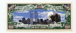 Beau Billet Fantaisie 2001/2002 Dollars - New York - Word Trade Center - Twin Towers - United States Banknote - Etats-Unis