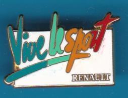 52586-Pin's.Renault.signé Arthus Bertrand Paris.. - Arthus Bertrand