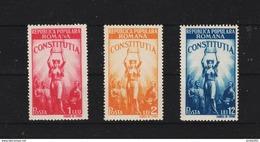 1948 - Constitution De La Republique Populaire Mi 1118/1120 Et Yv 1022/1024 MNH - Ungebraucht
