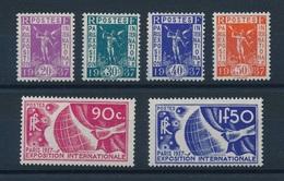 BM-328: FRANCE:   Lot  Avec Timbres N°322/327** - Unused Stamps