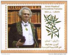 Lebanon 2013 MNH - Amine Maalouf The Famous Writer - Lebanon
