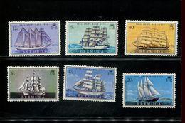 482769210 1976  ** MNH YVERT 325 326 327 328 329 330 SCHEPEN - Bermudes