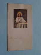 Feestmaal Plechtige H. Communie SUZANNE FLERACKERS Antwerpen St. Lutgardiskapel 19 Mei 1957 ( Zie Foto's ) ! - Menus