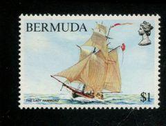 482769651 1983  ** MNH YVERT 438 SCHEPEN - Bermudes