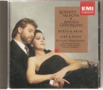 "CD     Roberto  Alagna  &  Angela  Georghiu  "" Airs & Duos   ""   De  1996  2  CD   Avec  14  Titres - Oper & Operette"
