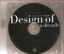 """CD     Janet  Jackson  1986/1996  """"  Design Of A Decade   """"   De  1996   Avec  18  Titres - Sin Clasificación"""