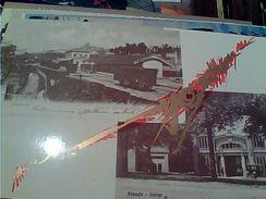 1° MOSTRA CARTOLINA MACERATA 1986  LE VIA DI COMUNICAZIONE TRENO TRAIN  STAZIONE Macerta E GARAGE Pausula  N1984 GI17563 - Borse E Saloni Del Collezionismo