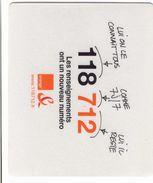 TAPIS DE SOURIS 118 712 FRANCE TELECOM - Technical