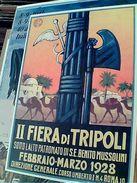 Riproduzione Intercard  2° II  Fiera Tripoli 1928 N1992 GI17564 - Fiere