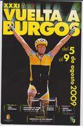 Ref. 3. Vuelta Ciclista A Burgos 2009. Postal Ofcial Radioaficionados EG1 -  VCB - Ciclismo