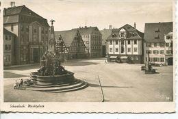 Schwabach - Marktplatz 1940 (001487) - Schwabach