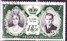 Monaco - Hochzeit Grace Kelly + Fürst Rainier III. (MiNr: 561) 1956 - Gest Used Obl - Monaco