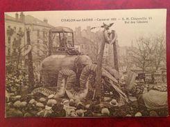 71 CHALON SUR SAONE Carnaval 1931 SM Chiquerille  VI Roi Des Goniots - Chalon Sur Saone