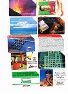 TELECOM ITALIA -  LOTTO DI 10 SCHEDE TELEFONICHE DIFFERENTI ( )  - USATE - Tarjetas Telefónicas