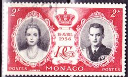 Monaco - Hochzeit Grace Kelly + Fürst Rainier III. (MiNr: 562) 1956 - Gest Used Obl - Monaco