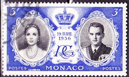 Monaco - Hochzeit Grace Kelly + Fürst Rainier III. (MiNr: 563) 1956 - Gest Used Obl - Monaco