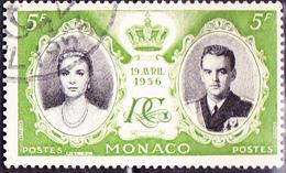 Monaco - Hochzeit Grace Kelly + Fürst Rainier III. (MiNr: 564) 1956 - Gest Used Obl - Monaco