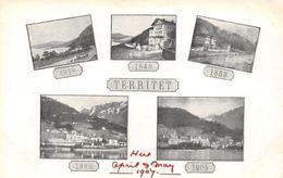 Switzerland Suisse Territet 1818 1848 1863 1888 1905 Multiviews - Ohne Zuordnung
