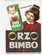 3-ORZO BIMBO-INDUSTRIA ITALIANI SUCCEDANEI CAFFE-ERMINO BERTOLDO-VICENZA-VETROFANIA-PERFETTA-VEDI DESCRIZIONE - Manifesti