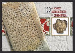 Portugal 2017 Postal Stationery 150 Years Archaeology Finds Conimbriga Roman Empire Postal Stationery - Entiers Postaux