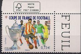 2017  Frankreich  Mi. 6747 **MNH  100 Jahre Französischer Fußballpokal. - France