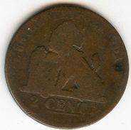 Belgique Belgium 2 Centimes 1835 Français KM 4.2 - 1831-1865: Léopold I
