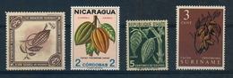 Chocolade/chocolate/chocolat Pod Stamps Costa Rica/nicaragua/Haiti/suriname - Stamps