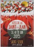 Programme Fêtes De La St Jean De St Sever (40) 2015 - Programs