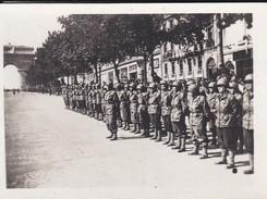 MINI PHOTO--PARIS--service Auxiliaire Féminin De L'armée Américaine---libération 1944 Armistice--voir 2 Scans - Photographie