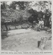 Photo Stéréoscopique Guerre 14-18 War WW1 / 2776 Une Ville Sous Bois, Entrée De La Villa D'un Capitaine - Riproduzioni