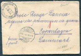1920 Hungary Galszecs Secovce Slovakia Censor Zens. Cover - Red Cross, Copenhagen, Denmark - Briefe U. Dokumente