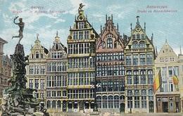 Antwerpen/Anvers, Brabo En Handelshuizen Feldpgl1916 #F0554 - Belgium