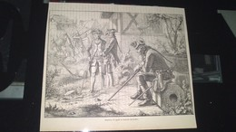 Affiche (gravure) -  FREDERIC II Après La Bataille De KOLLIN - Afiches