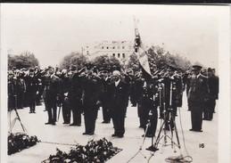 MINI PHOTO--PARIS---Général EISENHOWER à L'arc De Triomphe--libération 1944 Armistice-voir 2 Scans - Photographie